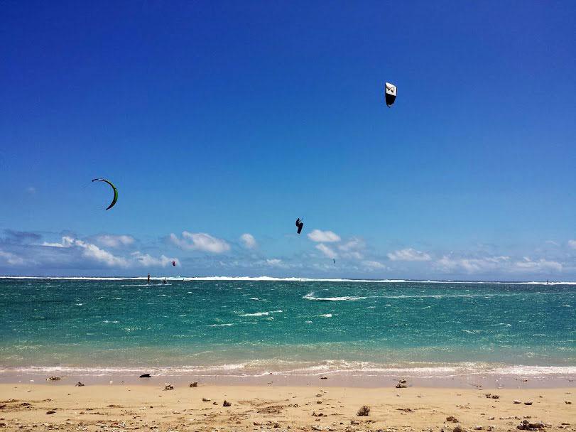 Saut kitesurf spot de la saline les bains